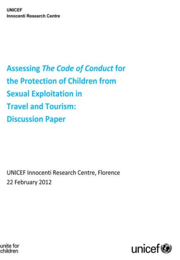 Assessing the Code of Conduct for the Protection of ...